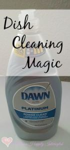 Dish Cleaning Magic