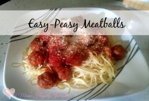 Easy-Peasy Meatballs