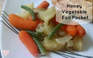Honey Vegetable Foil Packet